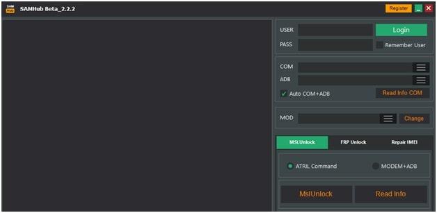 SAMHub Application 2.2