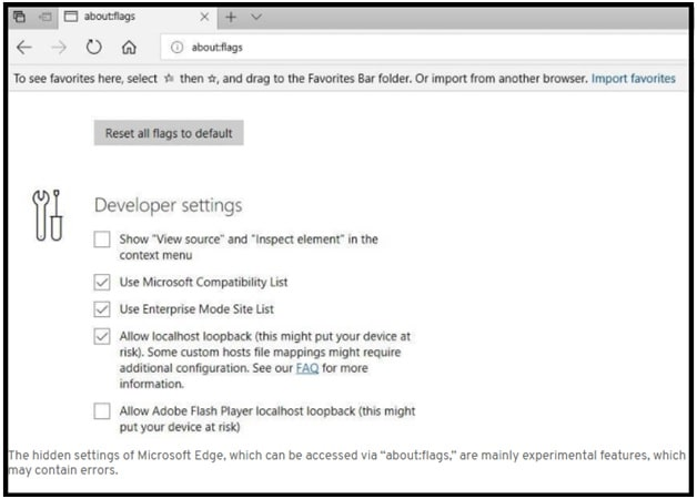 TCP Fast Open Feature In Microsoft Edge Browser