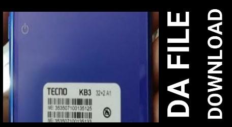 Techno KB3 DA file