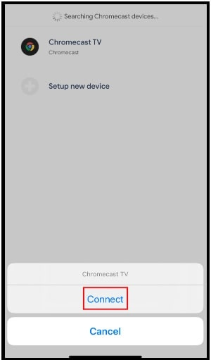 Streamer for Chromecast app