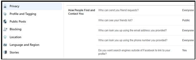 Hide My Facebook Account Without Deleting