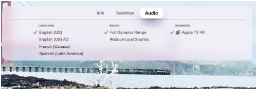 Change Language On Apple TV Application