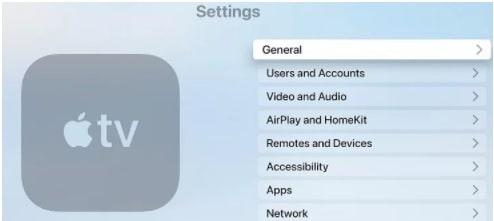 change apple tv language